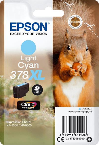 Tintenpatrone Cyan C13T37954010 für Expression Photo XP-8502
