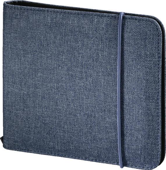 HAMA Up to Fashion CD-Tasche, Blau