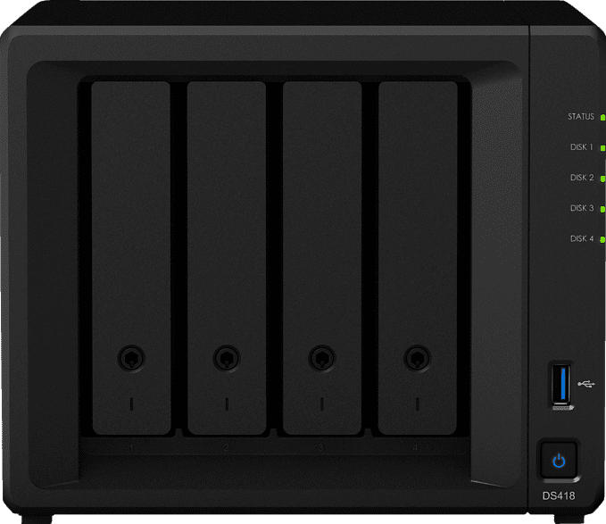 SYNOLOGY DiskStation DS418  3.5 Zoll extern
