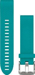 Silikonarmband QuickFit 20mm für Fenix 5S, türkis (010-12491-11)