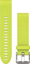 Silikonarmband QuickFit 20mm für Fenix 5S, gelb (010-12491-13)