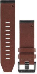 Uhrenarmband QuickFit 26mm Braunes Leder für fenix 5X (010-12517-04)