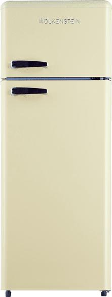 WOLKENSTEIN GK212.4RT  Kühlgefrierkombination (A++, 167 kWh/Jahr, 1456 mm hoch, Creme)