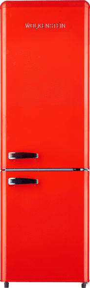 WOLKENSTEIN KG 250.4 RT FR A++  Kühlgefrierkombination (A++, 190 kWh/Jahr, 1775 mm hoch, Rot)