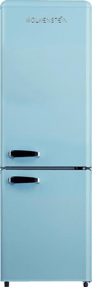 WOLKENSTEIN KG 250.4 RT LB A++  Kühlgefrierkombination (A++, 190 kWh/Jahr, 1775 mm hoch, Blau)
