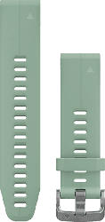 Silikonarmband QuickFit 20 für Fenix 5S Gr. S/M, graugrün (010-12739-06)