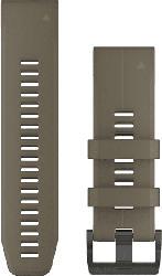 Silikonarmband QuickFit Titan 26 für Fenix 5X, olivgrün (010-12741-04)