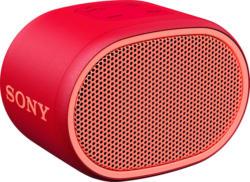 Bluetooth Lautsprecher SRS-XB01, tragbar, kabellos, spritzwassergeschützt, rot