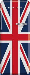 Kühlschrank FAB 28LDUJ3 im Union Jack Design und mit Linksanschlag