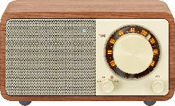 Radio Genuine Mini (WR-7) mit Bluetooth, walnut