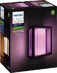 Hue White & Color Amb. Impress LED Wandleuchte breit