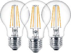 Classic LED Lampe 7 Watt (60W) E27 Warmweiß 3er Set