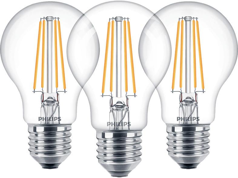 PHILIPS Classic  LED Lampe E27 Warmweiß 7 Watt 806 Lumen