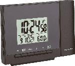MediaMarkt Funk-Projektionswecker mit Temperatur, schwarz
