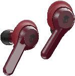 Saturn True Wireless Kopfhörer Indy, rot/schwarz