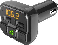 FM-Transmitter mit Bluetooth und Freisprechfunktion
