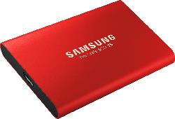 SSD Festplatte Portable SSD T5 rot 500GB, USB-C 3.1 (MU-PA500R)