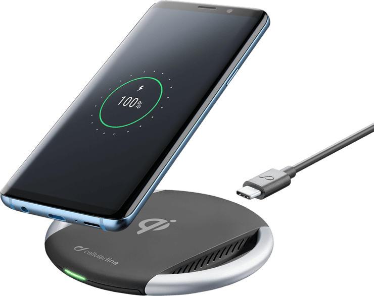 Induktionsladepad 10W für Samsung, Apple und andere induktionsfähige Smartphones