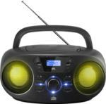 Saturn CD Radio ORC 333-B Stereo CD/MP3/USB mit LED