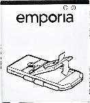 Saturn Ersatzakku AK-S3-BC für Emporia SMART.3, 2500 mAh