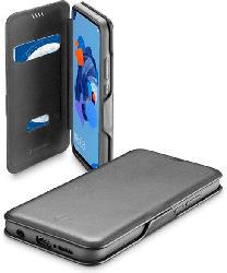 Buchklapptasche Book Clutch für Huawei P20 Lite (2019), schwarz