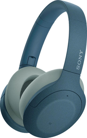 SONY h.ear on 3 WH-H910N, Over-ear Kopfhörer Bluetooth Blau