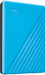 Festplatte My Passport 2TB, blau, USB 3.0 Micro-B (WDBYVG0020BBL)