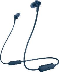 SONY WI-XB400, In-ear Kopfhörer Bluetooth Blau