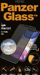 Antiblend Displayglasschutzfolie für iPhone XR/Phone 11 schwarz