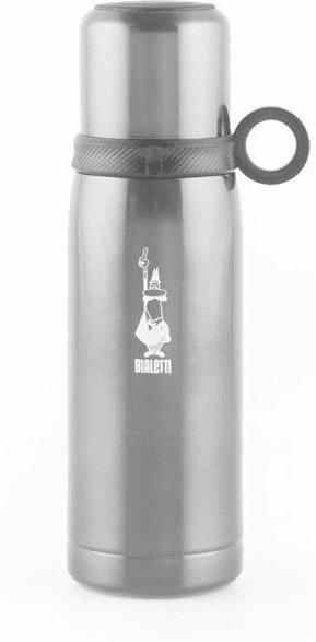 Isolierflasche mit Becher DCXIN0006, Grau