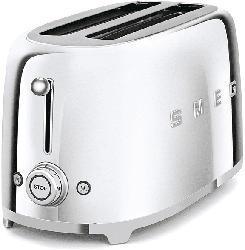 Retro Style Langschlitz-Toaster, 2-Schlitz, Chrome TSF02SSEU