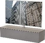 MediaMarkt TV-Rack LU-130-CAP-GRF+LU-TV1 TV-Paket Cappuccino