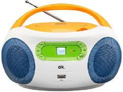 CD Radio ORC 512 Color Boombox mit USB
