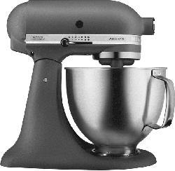 Küchenmaschine 5 KSM 156 HBEGR ARTISAN MATTE GREY & BRUSHED BOWL