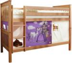 Möbelix Etagenbett Sammy 90x200 cm Buche