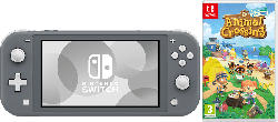 Switch Lite Grey + Animal Crossing New Horizons