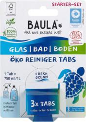 Biobaula Starter-Set Öko-Reiniger-Tabs für Glas, Bad und Boden