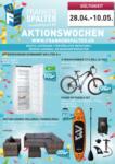 Frankenspalter Frankenspalter Aktionen - au 10.05.2020