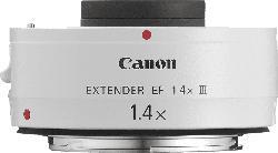 CANON Extender EF 1.4x III  f/1.4 EF (Objektiv für Canon EF-Mount, Weiß)