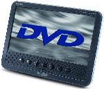 """Saturn MPD178 TFT LED-Bildschirm 7"""" (16:9) mit integriertem DVD-Player"""