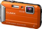 MediaMarkt PANASONIC Lumix DMC-FT30EG-D Digitalkamera Orange, 16.1 Megapixel, 4x opt. Zoom, TFT-LCD