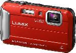 MediaMarkt PANASONIC Lumix DMC-FT30EG-D Digitalkamera Rot, 16.1 Megapixel, 4x opt. Zoom, TFT-LCD