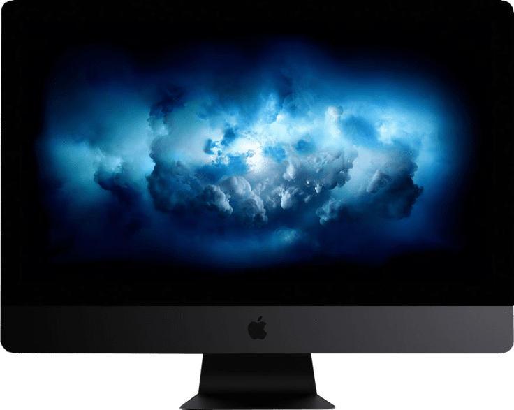 iMac Pro CTO mit amerikanischer Tastatur, Space Grau (WMQ2Y2D/AUS-C066)