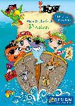 Saturn 57797, Kinder Sticker Spielbuch, Pirat, 1 Stück