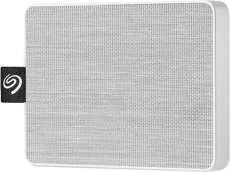 SSD Festplatte One Touch 500GB, weiß (STJE500402)
