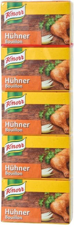 Knorr bouillon de poule en barres de 5lt 113g -