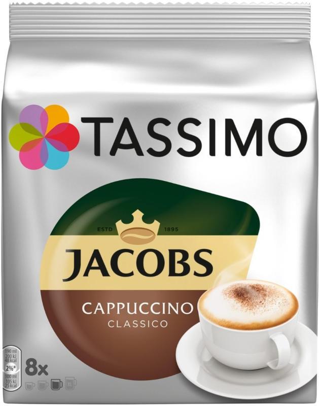 Tassimo Jacobs cappuccino 8 capsula 260g -