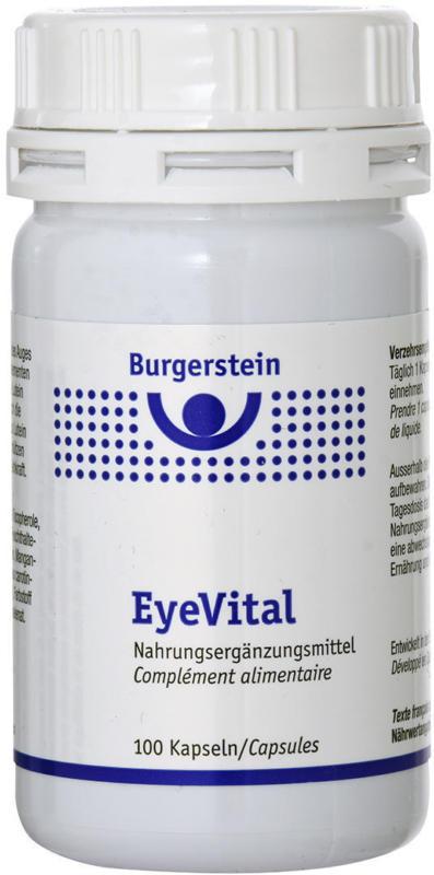 Burgerstein EyeVital 100 capsules -