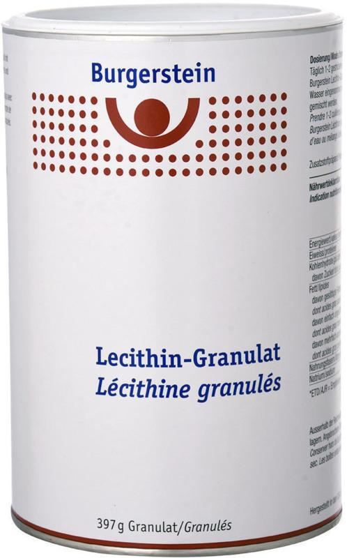 Burgerstein Granulato di lecitina 397 g -