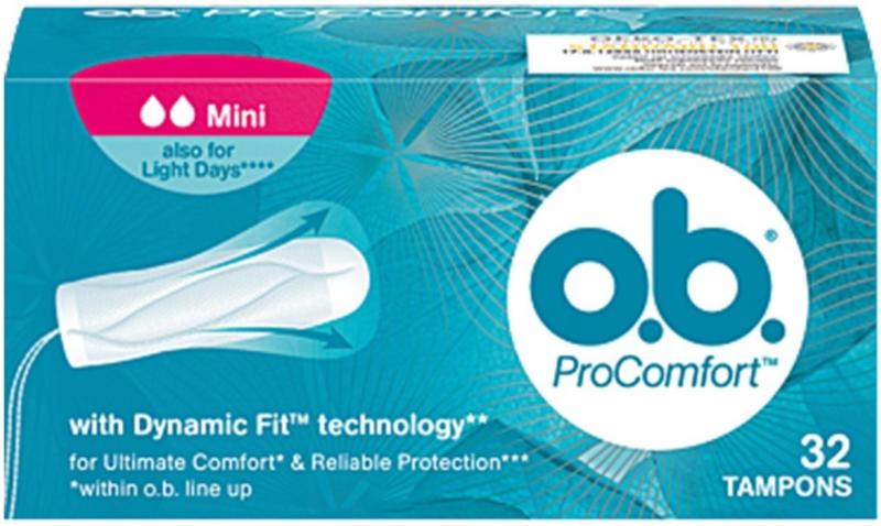 O.B. tamponi pro comfort mini 32 pz. -